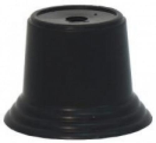 Цоколь пластиковый черный