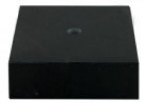 Цоколь мраморный черный