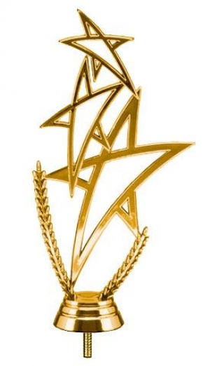 ЗВЕЗДЫ (3 звезды)  фигурка пластиковая