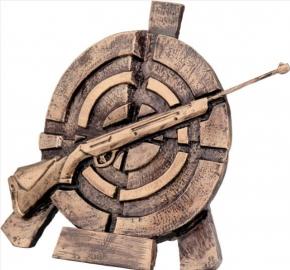СТРЕЛЬБА  (винтовка)  2065  фигура литая