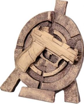 СТРЕЛЬБА (пистолет)  RTY3065  фигура литая